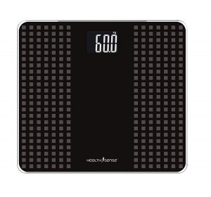 7. Health Sense PS 117 Glass Top Digital Personal Body Weighing Scale