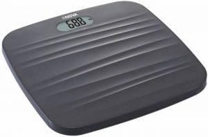 Nova BGS - 1260 Ultra Lite Electronic Digital Personal Body Scale (Black)