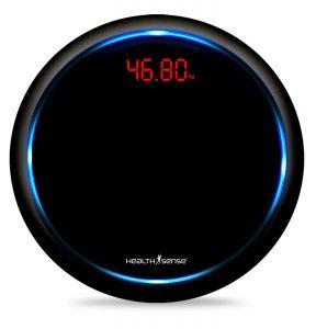 HealthSense Blue-Orbit PS 139 Digital Body Weight Personal Bathroom Weighing Scale