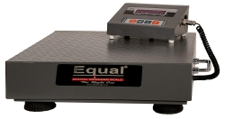 EQUAL Digital Weighing Home Scale, EIWS – 10, 100Kg, MS Platform, Red LED Display