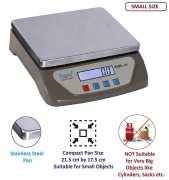 Equal Digital Kitchen Weighing Scale 25 Kg With White Backlight Display