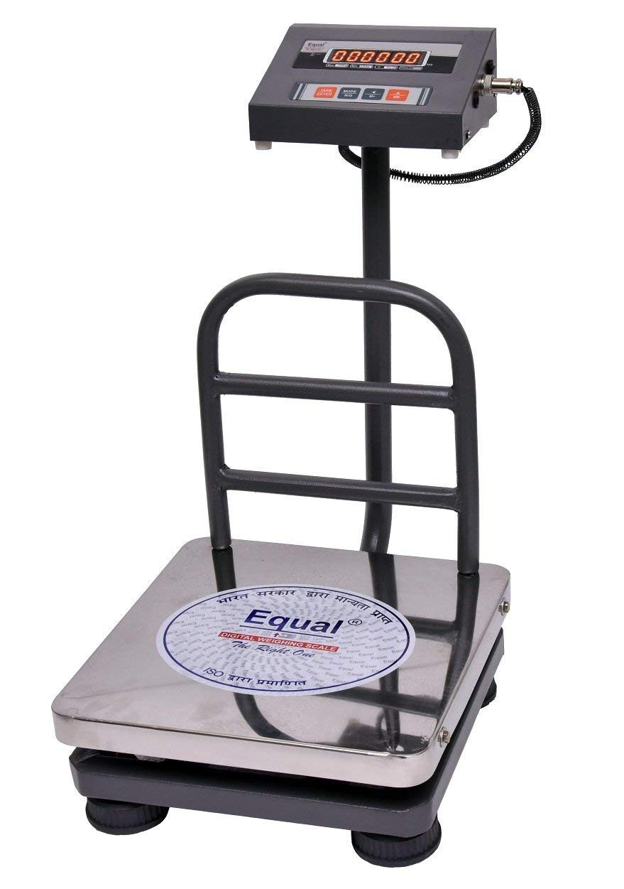 Equal Digital Weighing 'Bench' Scale, Eiws – 12, 50Kg, Ss Platform