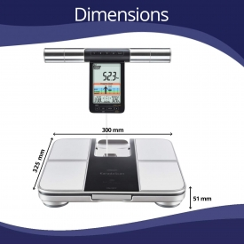 Omron HBF 701 Karada Scan Complete Digital Body Composition Monitor