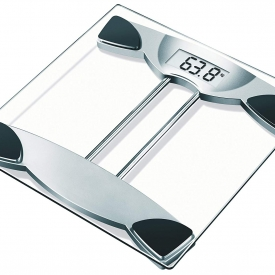 Venus Electronic Digital Body Weight Weighing Scale (Transparent)
